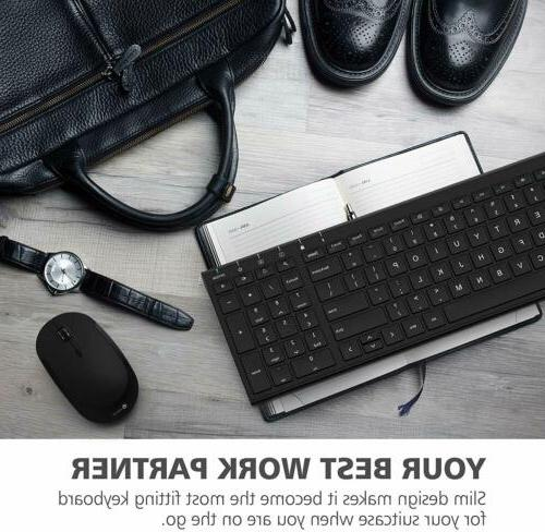iClever 2.4G Keyboard Mouse Rose