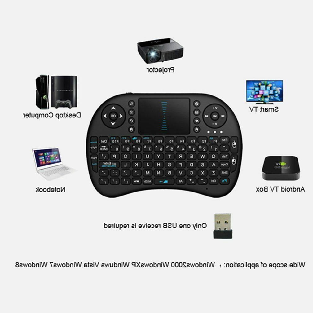 Backlit Wireless Keyboard Mouse Amazon Stick plus OTG adapter