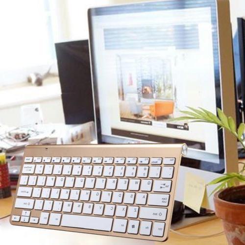 Ultra 2.4G Wireless Keyboard Windows Laptop MAC US