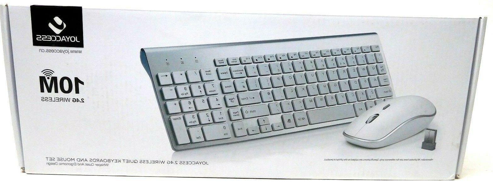 2 4g wireless compact keyboard and mouse