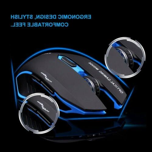 2.4G Wireless Gaming and Mouse Set for Gamer