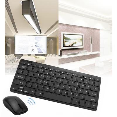 2.4G Keyboard and Cordless Combo Slim Multimedia for