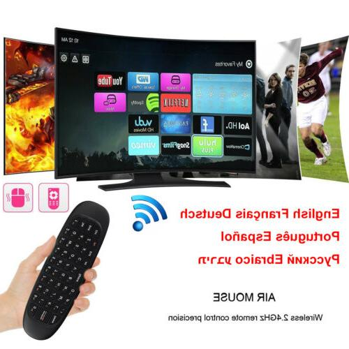 2 4g wireless remote keyboard air mouse