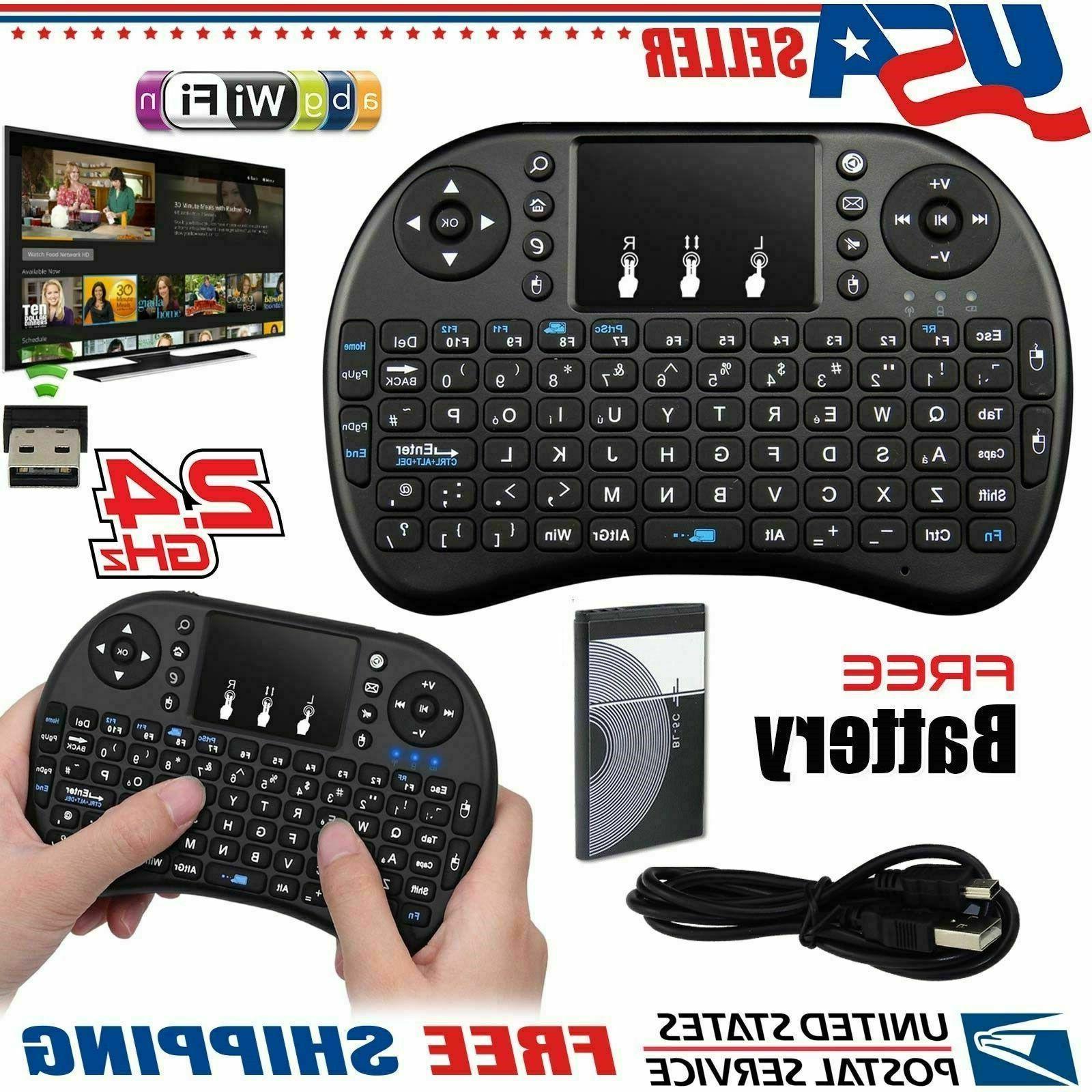 2 4ghz mini wireless backlit keyboard touch