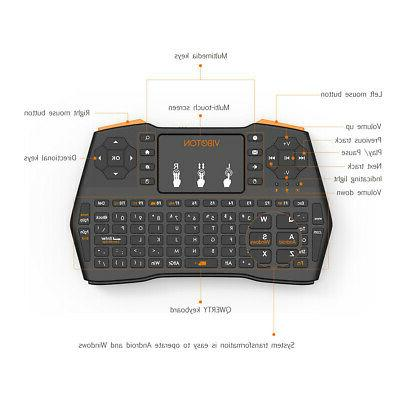 2.4GHz Air Mouse Android TV Box