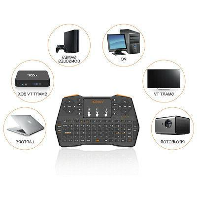 2.4GHz Mini Wireless Keyboard Air Mouse Android PC Box