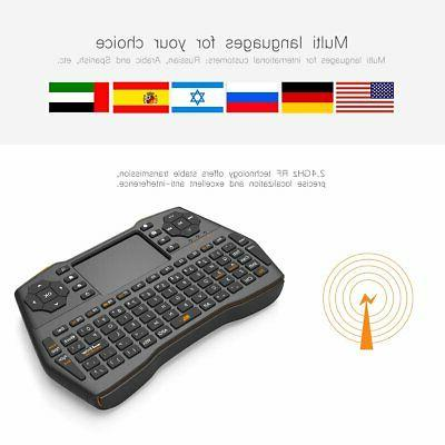 2.4GHz Mini Air Mouse Android PC Smart TV Box