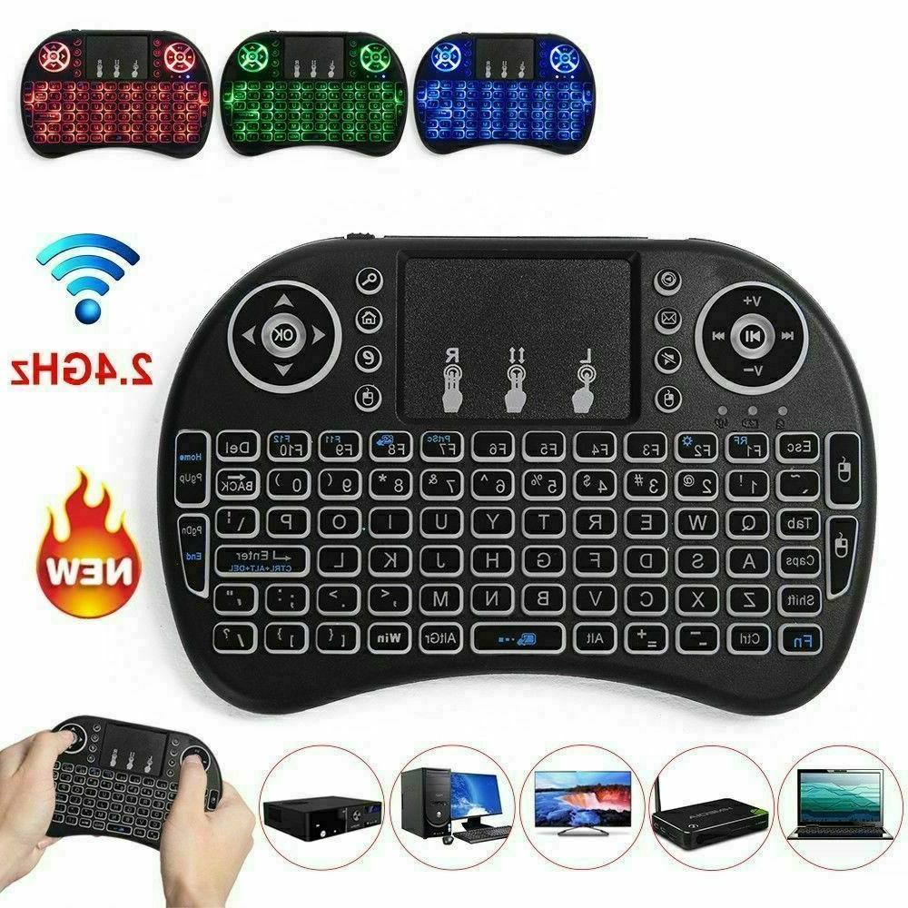 2.4GHz Mini BACKLIGHT with Touch pad for PC USA