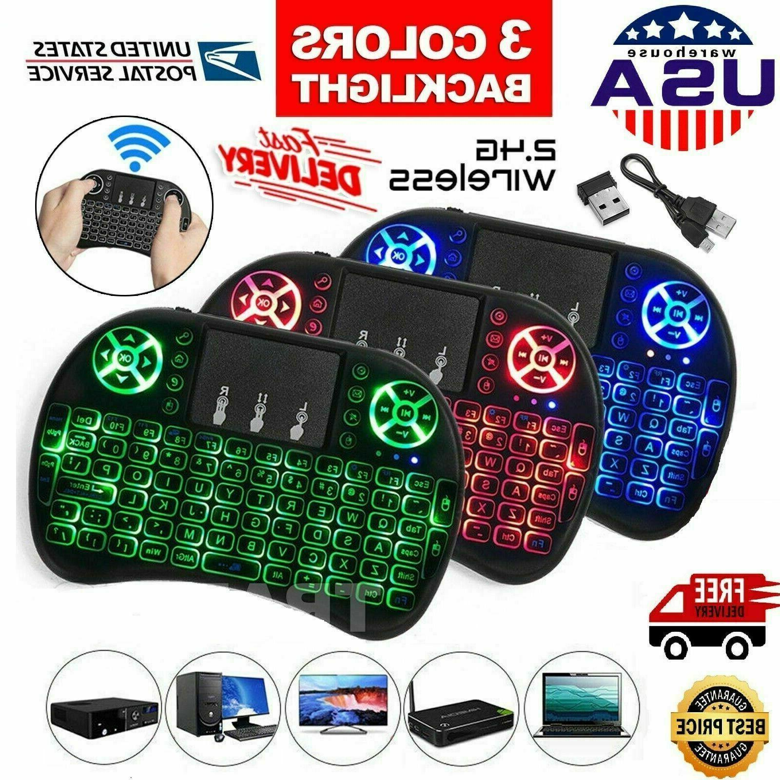 2 4ghz mini wireless keyboard backlight