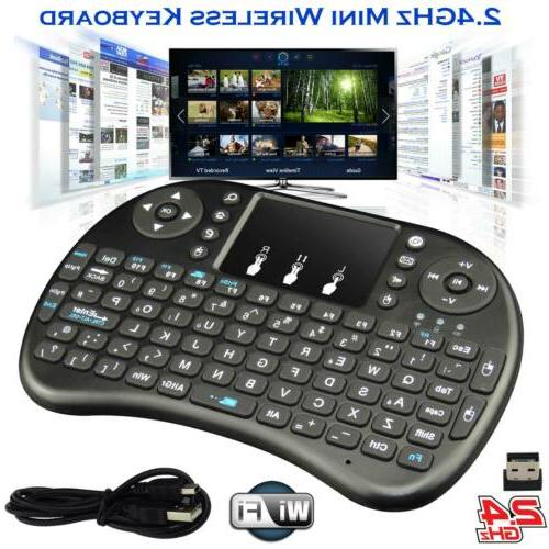 2 4ghz mini wireless keyboard remote controls