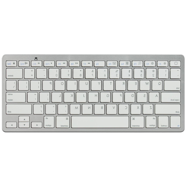 2.4GHz Slim Bluetooth Wireless Keyboard For Macs