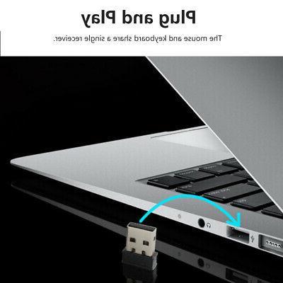 2.4GHz Wireless + 6 PC