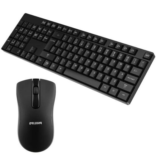 Philips 2.4GHz Mouse w/ for PC Laptop