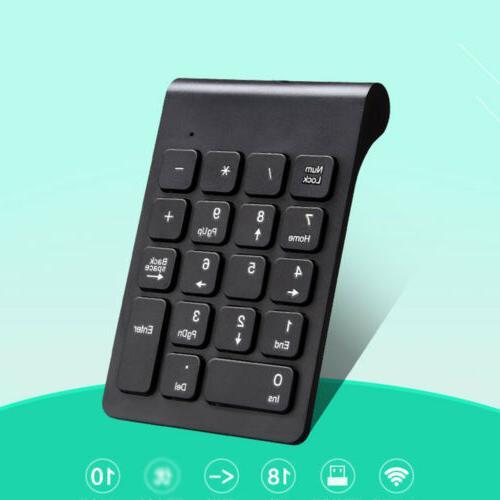 18 2.4GHz USB Keypad For Laptop Q3P8B