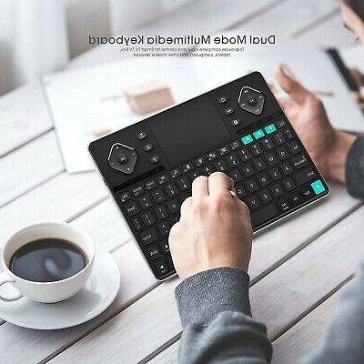 Rii (2018 Bluetooth &RF Wireless Ultra Slim