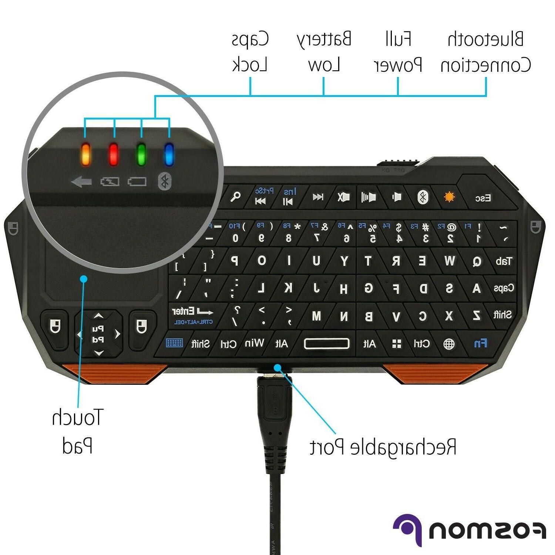 Fosmon 30FT Bluetooth Keyboard iOS Android