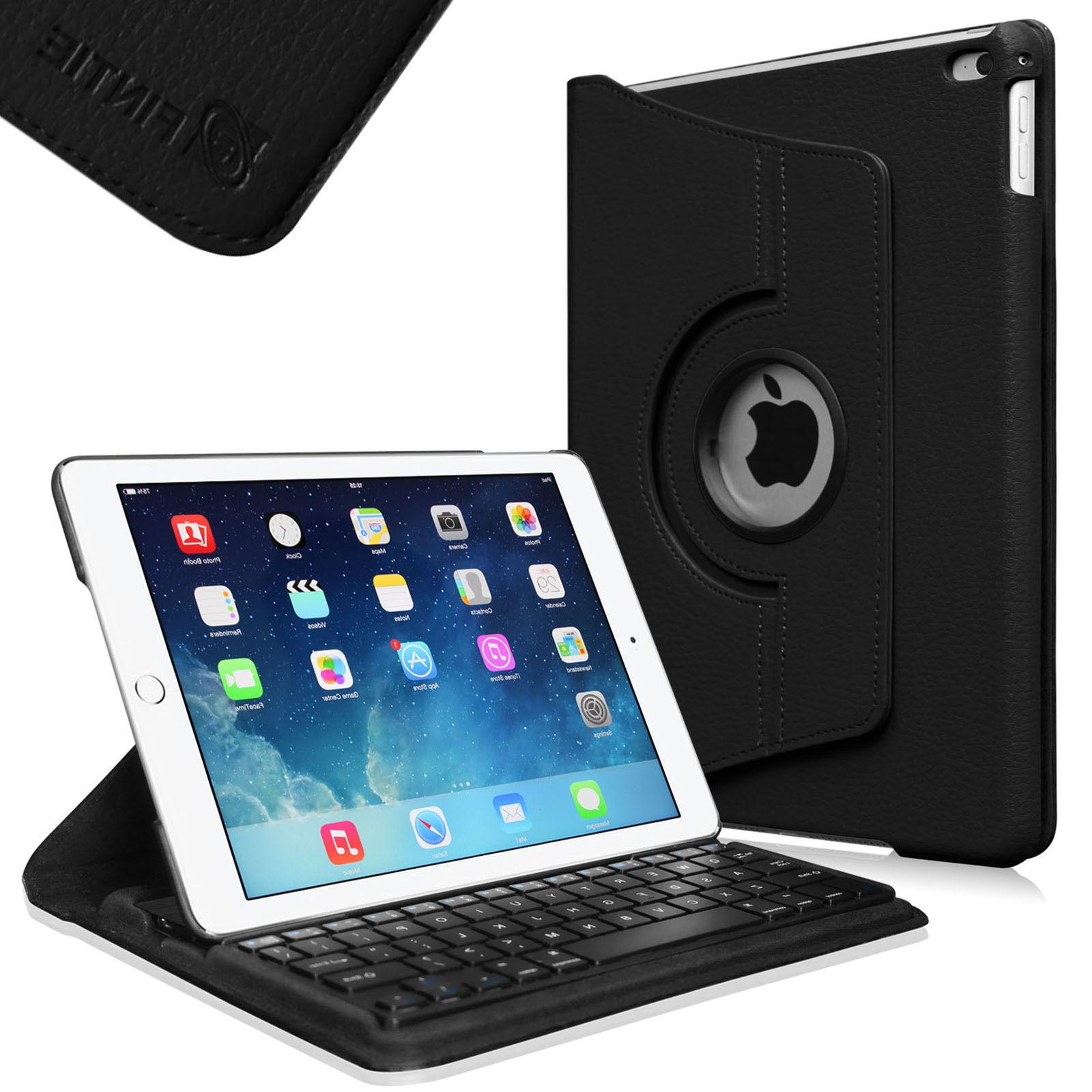 Swivel Case Cover Stand with Built-in Wireless Bluetooth Key