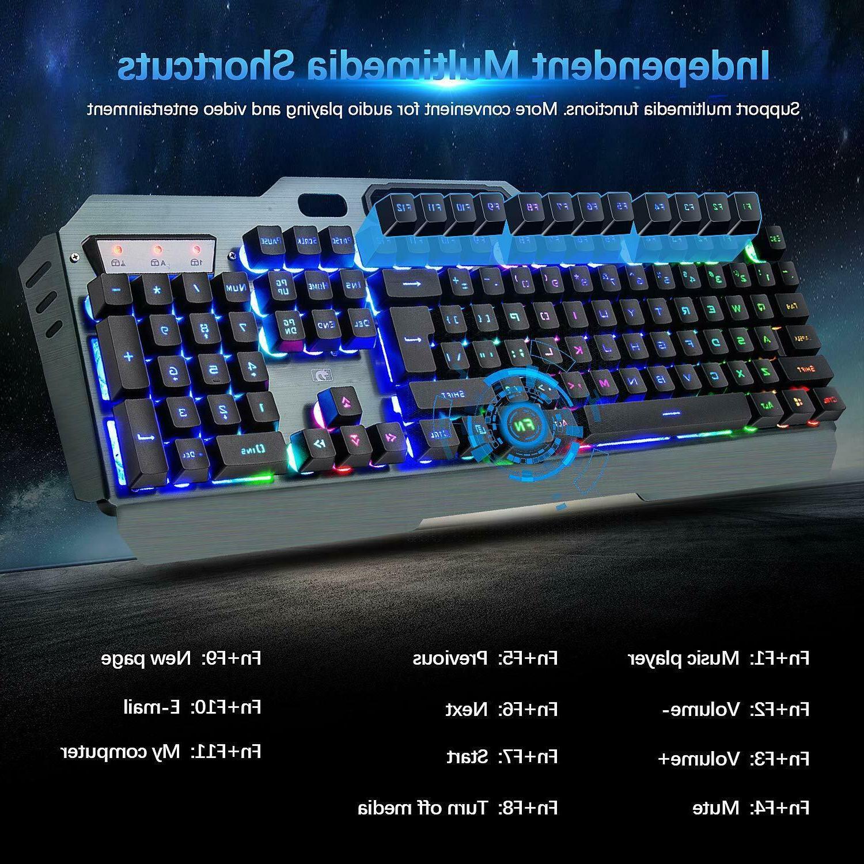 LED Keyboard Mice