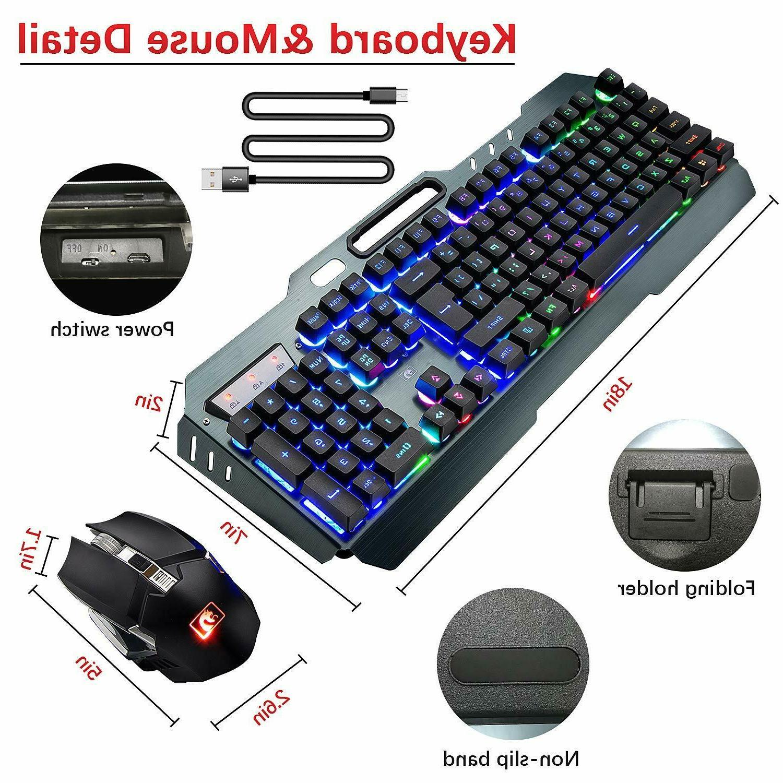 US Wireless LED Keyboard