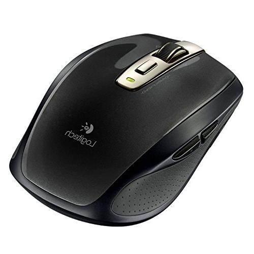 Anywhere Mouse Wireless, Glossy Black