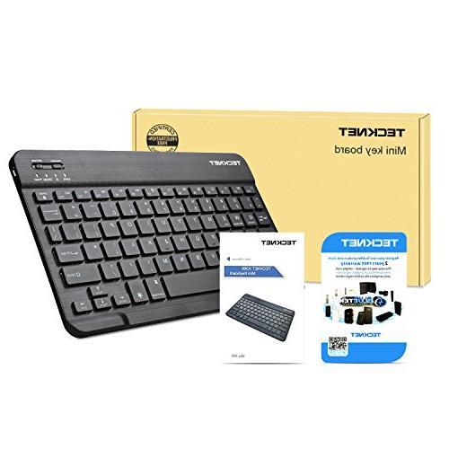 Backlit Bluetooth Universal 7-Colors Adjustable Bluetooth Keyboard