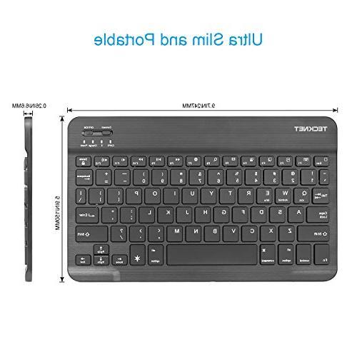 Backlit Bluetooth Keyboard, TeckNet Universal Illuminated Keyboard