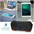 Bluetooth Mini Wireless Keyboard Mouse Touchpad For Apple iO