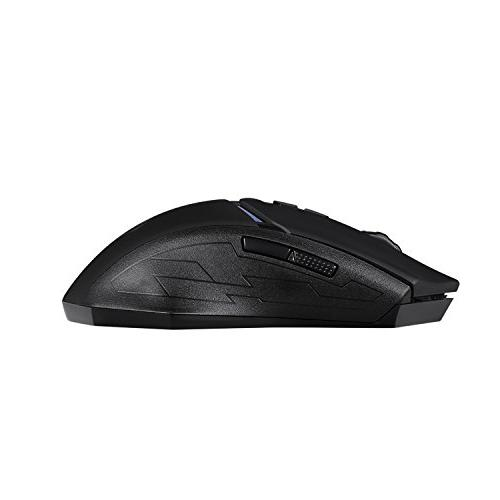 EagleTec Wireless Mouse 2.4GHz LED 7-Button