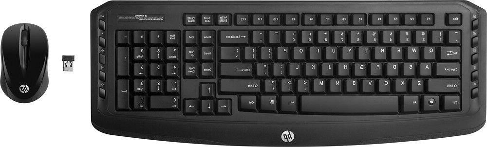 HP - Classic Desktop - Combo Wireless Keyboard and Optical M