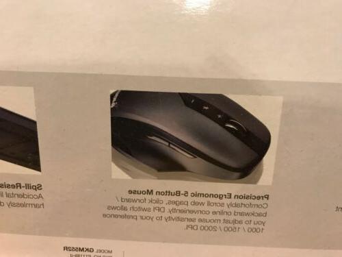 IOGEAR Long 2.4 GHz Wireless Mouse