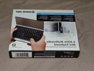 IOGear Mini Wireless Keyboard - GKM571R  - 33FT Range 2.4ghz