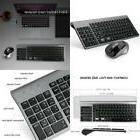 Joyaccess Wireless Keyboard And Mouse Combo Full-Size Compac