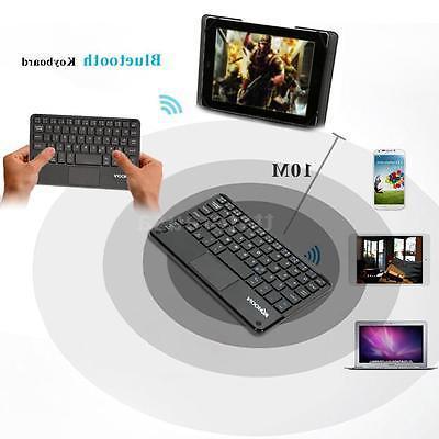 KKMOON Mini BT3 0 Wireless Keyboard Touchpad for PC