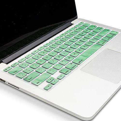 Kuzy Keyboard Cover for MacBook and MacBook Air,