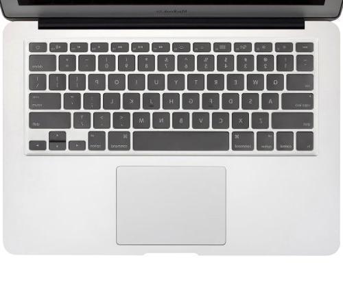 """Kuzy ULTRA Keyboard Soft TPU Skin Pro 13"""" 15"""" iMac and MacBook 13"""" - CLEAR"""