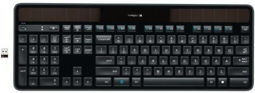 Logitech Keyboard Recharging 2.4GHz black