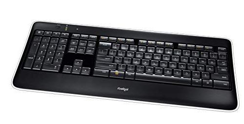 Logitech Wireless Illuminated Keyboard Fast-Charging,