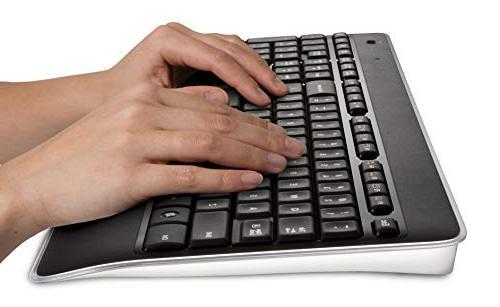 Logitech Wireless Illuminated Keyboard Backlit Fast-Charging, Dropout-Free 2.4GHz