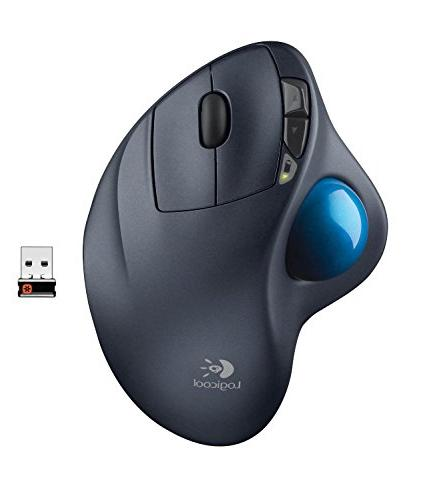 Logitech - M570 Wireless Trackball Mouse