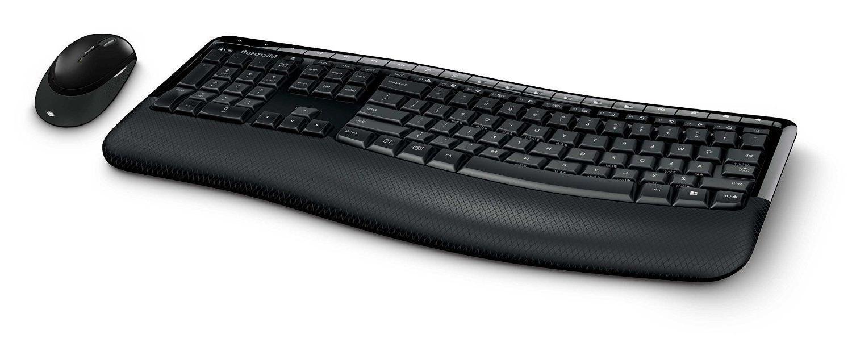 Microsoft Wireless Comfort Desktop 5000 Keyboard and Mouse-B