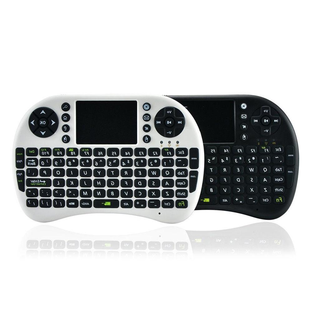 Mini i8 Wireless Keyboard Touch Pad Air Mouse Remote for MXQ