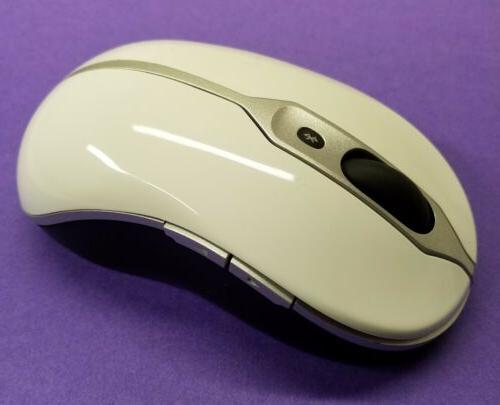 NEW Wireless Notebook Bluetooth Travel Laser White F304K G716K