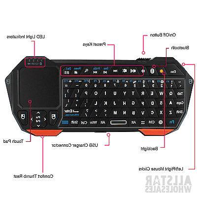 NEXspark BLUETOOTH Keyboard Mouse Android Box PC