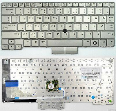 New Genuine HP 2710p Silver Keyboard W/Point Stick 454696-00