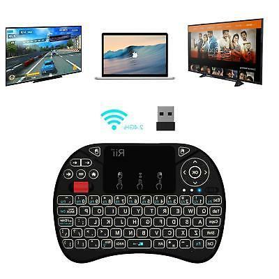 Rii i8X Mini Keyboard with Touchpad