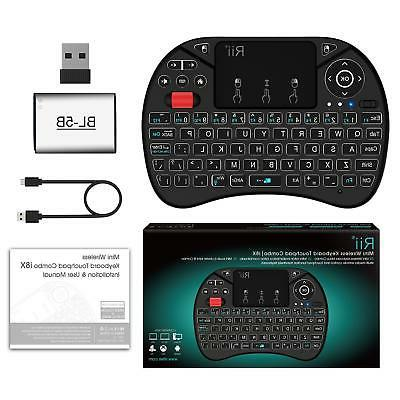 i8X Mini Wireless Touchpad Mouse