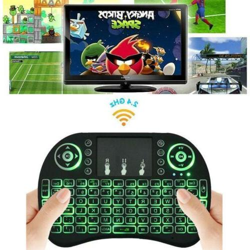 2.4G Touchpad Rechargeable for TV Android PC