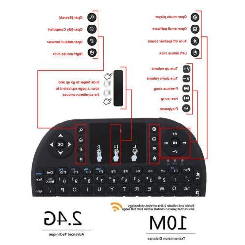 2.4GHz Backlit Keyboard Smart TV Tablet