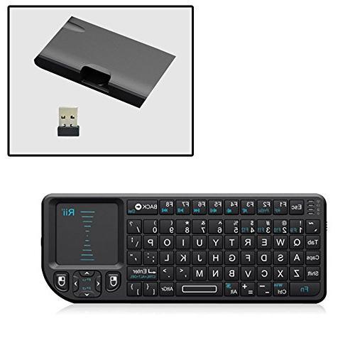 Rii Wireless Remote Control, Black