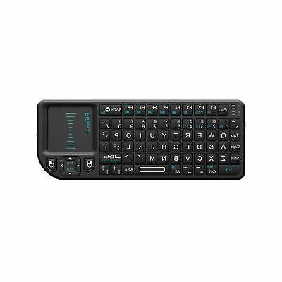 Rii Mini 2.4GHz Keyboard with Touchpad Remote Control,